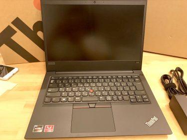 【ThinkPad E495】メモリとSSDを増設して4K動画編集できるPCを安価に調達(写真多め)