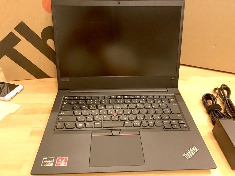 ThinkPad E495メモリ増設